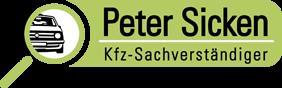 Kfz-Sachverständiger Peter Sicken Logo